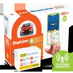 Автосигнализация StarLine A93 V2 2CAN-2LIN GSM