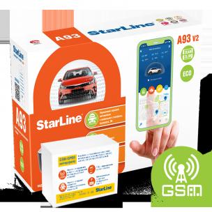 Автосигнализация StarLine A93 V2 2CAN-2LIN GSM ECO