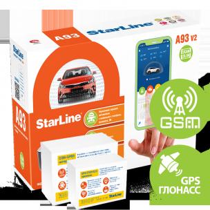 Автосигнализация StarLine A93 V2 2CAN-2LIN GSM-GPS
