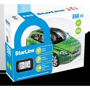 Автосигнализация StarLine E66 V2 BT 2CAN+4LIN ECO