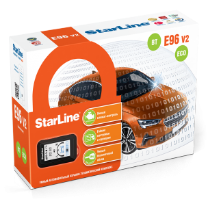 Автосигнализация StarLine E96 V2 BT 2CAN+4LIN ECO