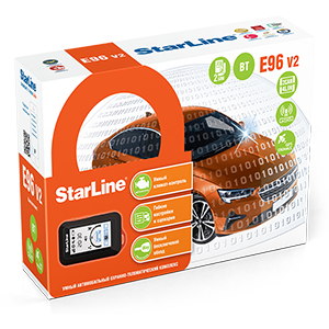 Автосигнализация StarLine E96 V2 BT 2CAN+4LIN GSM-GPS